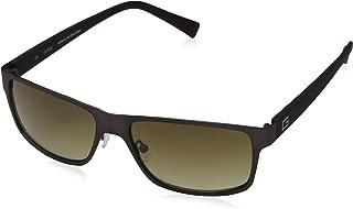 Guess Square Sunglasses for Men - Brown Gradient Lens, GU6814J4857