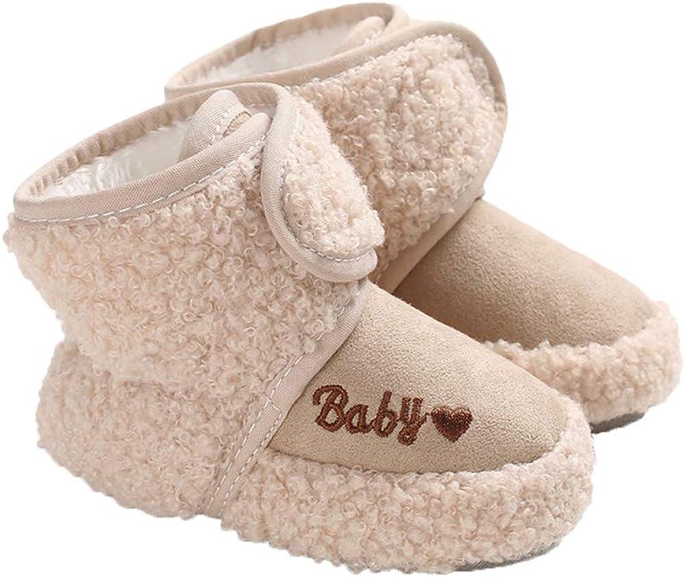 Baby Cozy Fleece Max 67% OFF Booties Premium Boots Newborn Snow Toddler Topics on TV Prew