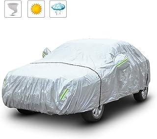 R/ésistant aux UV 259 x 147 x 50 cm - Hydrofuge 100/% Nylon L xlx H ECD Germany Demi-Housse Taille M b/âche de protection pour voitures