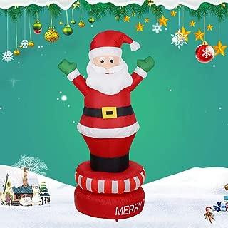 ETbotu 6FT Forma de Papá Noel, Juguete Hinchable, Navidad ...