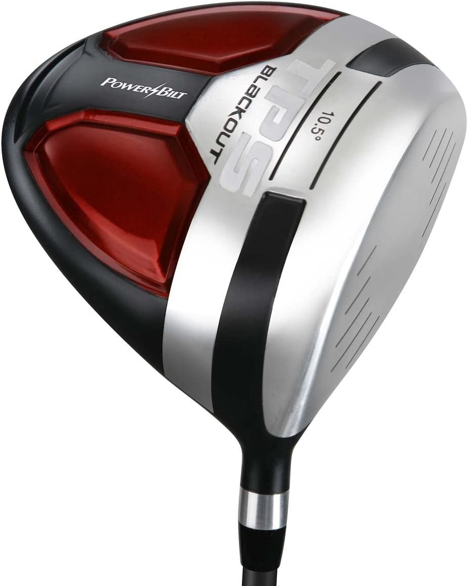 PowerBilt Men's TPS Blackout Degree Max 69% OFF Animer and price revision 10.5 Driver