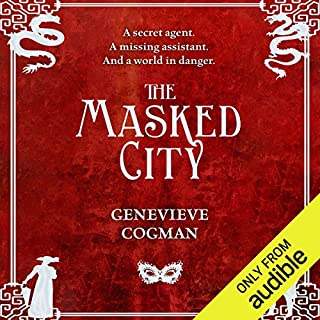 The Masked City     The Invisible Library, Book 2              Written by:                                                                                                                                 Genevieve Cogman                               Narrated by:                                                                                                                                 Susan Duerden                      Length: 10 hrs and 39 mins     1 rating     Overall 4.0