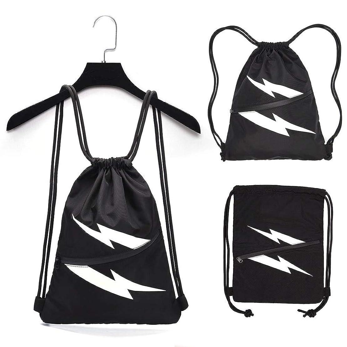 ゆりかご拷問取得するジムサック ナップサック ジムバッグ 巾着袋 バックパック スポーツ バッグ 防水 折り畳み 収納バッグ リュック アウトドア 軽量 運動 旅行 男女兼用