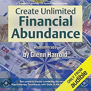 Create Unlimited Financial Abundance for Yourself audiobook cover art