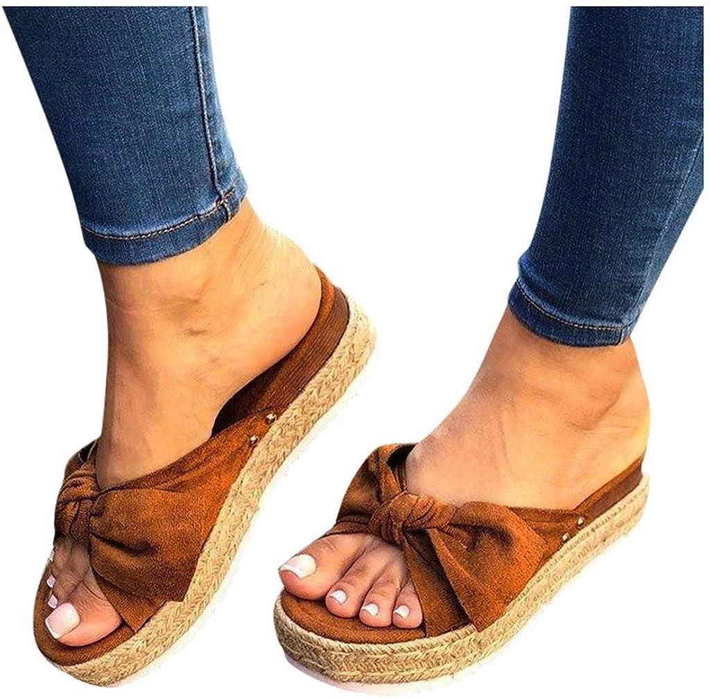 Alternative dealer siilsaa National uniform free shipping Sandals for Women Platform 2021 Comfy F Flip Fashion Bow