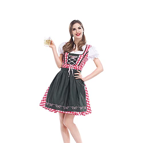 German Beer Festival Costume Bavarian Traditional Oktoberfest Dress Pink  Festival Party Dress 34cdddc5cbed