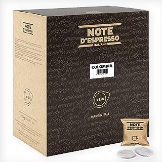 Note D'Espresso Bolsitas de Café de Colombia Monodosis - 150 Bolsas da 7g, Total: 1050 g