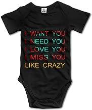 GUC Anton Yelchin Crazy Toddler Bodysuit Romper White