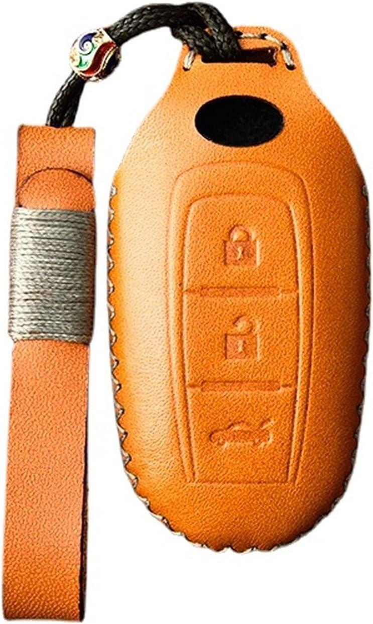SILUOFEI Leather Handmade Kansas City Mall Smart Phoenix Mall Car Fod Protector Case Cover Key