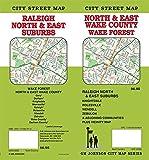 Wake County / Raleigh North & East Suburbs, North Carolina Street Map