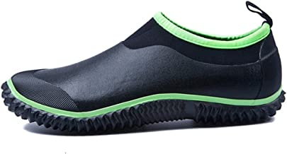 JOINFREE Womens Rain Boots Mens Garden Shoes Ankle Car Wash Footwear Outdoor