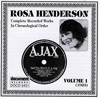 Rosa Henderson Vol. 1 (1923)