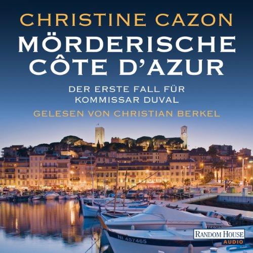 Mörderische Côte d'Azur audiobook cover art