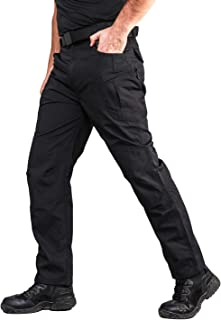 ANTARCTICA Mens Tactical Pants Water Repellent Ripstop Cargo Pants Military Army Combating Fishing Travel Hiking Casual Wi...