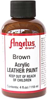 Angelus Acrylic Leather Paint-4oz.-Brown