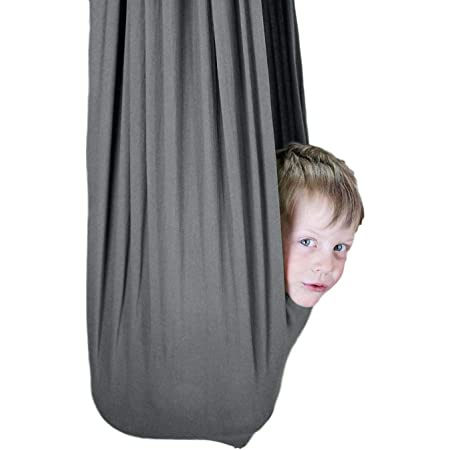 Elastic Children Hanging Cuddle Swing Therapy Hammock for Autism ADHD ADD tt
