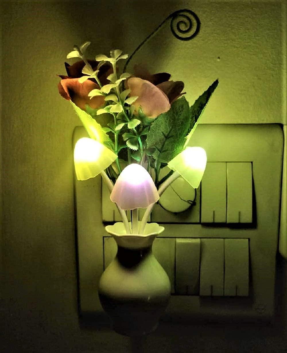 PRO365® Spa Romantic Night Lamp Auto On/Off Sensor(Crown Plug, Power Saver)