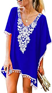 Best royal blue beach cover up Reviews