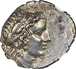 TR 2nd-1st Centuries BC Ancient City of Olympus Antique Silver Coin Rare Coins AR Drachm Choice About Uncirculated NGC