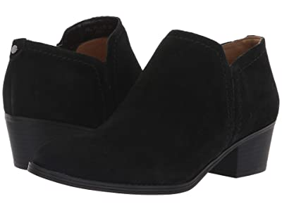 Naturalizer Zarie (Black Suede) Women