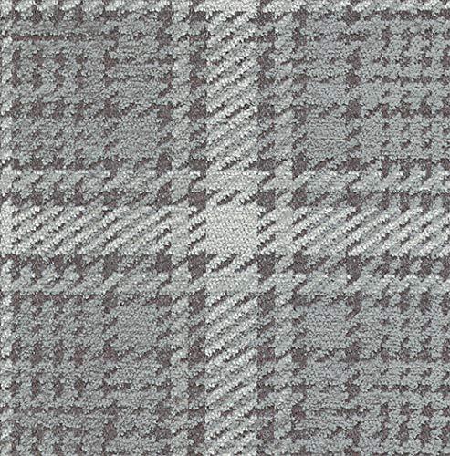 Joop! Stoff Polsterstoff Möbelstoff Bezugsstoff Meterware für Stühle, Eckbänke, Etc. - Scottish Grau Kariert - Muster