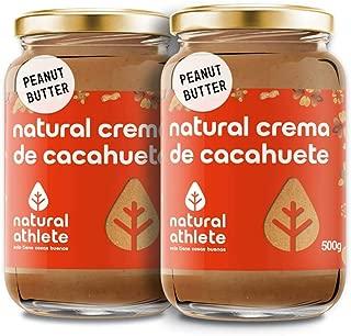 Crema de Cacahuete Natural Athlete 100% Cacahuete Sin Azú
