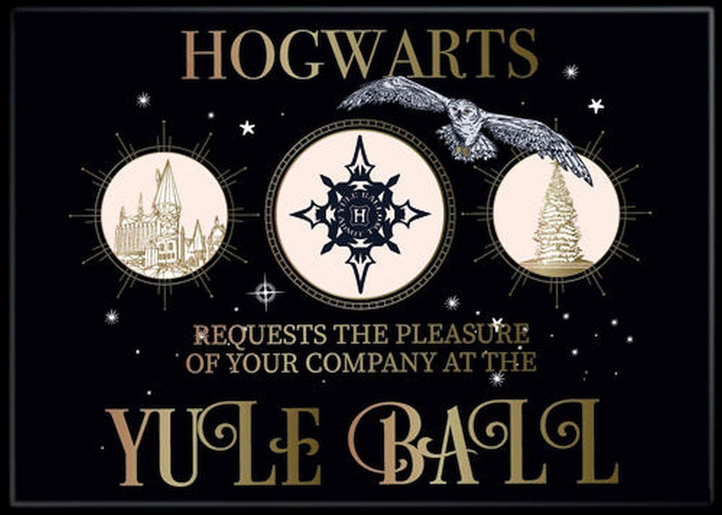 Ata-Boy Harry Outstanding Potter Hogwarts Yule At the price of surprise Ball Magnet R x 3.5