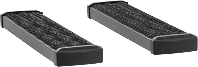 LUVERNE 415036-400341 Grip Step Black Aluminum 36-Inch Cargo Van Running Boards for Select Chevrolet Express, GMC Savana 3500, 4500