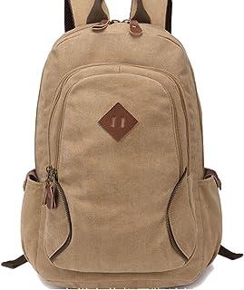 YIJIUERCCY Student-beiläufige Schulter-Beutel-große Kapazität, weiblicher Segeltuch-Rucksack-männliche Hochschulreisecomputer-Tasche