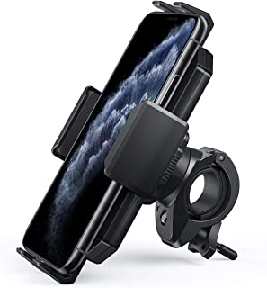 $21 » AUKEY Bike Phone Mount Anti Shake 360 Rotation Bicycle Motorcycle Phone Mount for Handlebar Bike Accessories Compatible wi...