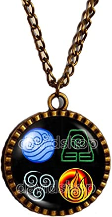 Handmade Fashion Jewelry Symbol The Seal of the Seven Archangels Bracelet Pendant Charm Olympic Spirits Cosplay