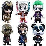 Hot Toys HTCOSB322 Suicide Squad Cosbaby - Set de 2 Figuras coleccionables