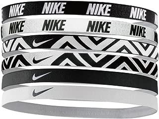 Nike Printed Assorted Headbands 6PK,OSFM
