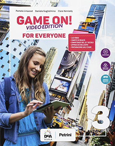 Game on! Student's book for everyone. BES. Per la Scuola media. Con e-book. Con espansione online [Lingua inglese]: 3