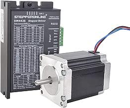 STEPPERONLINE 1 Axis Stepper CNC Kit 1.9Nm (269oz.in) Nema 23 Stepper Motor & Digital Stepper Driver 3A DC 24V-48V