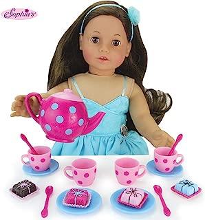 Sophia's Doll Sized Pink & Blue 18