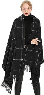Women Soft Cashmere Wool Scarf Large Pashminas Shawl and Wrap Warm Stole Blanket