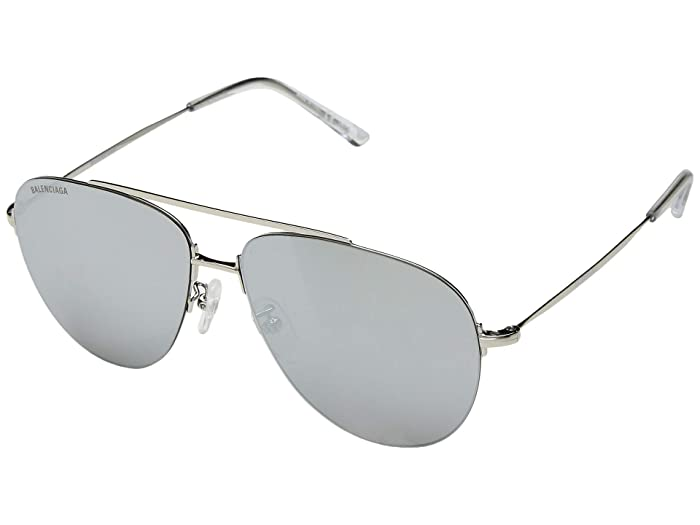 Balenciaga BB0013S (Silver) Fashion Sunglasses