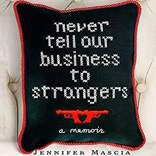 Never Tell Our Business to Strangers audiobook cover art