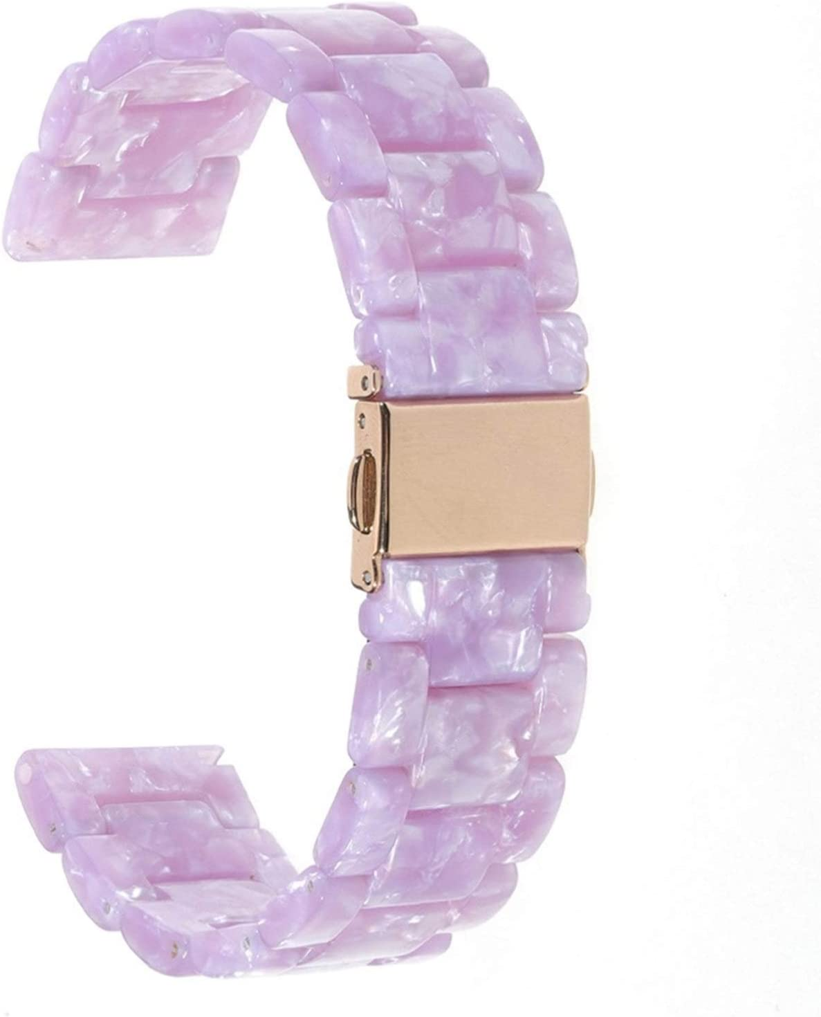 DLCYMY Fashion Resin Wrist Strap Rare for Watch Band Sales of SALE items from new works 4 6 Series SE 5