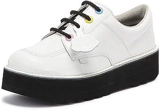 Kickers Kick Lo Stack Womens White Shoes