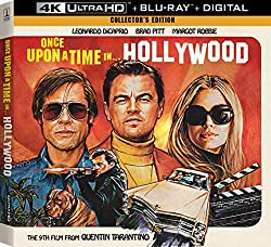 25% Off Once Upon A Time In Hollywood 4K UHD Collector's Edition