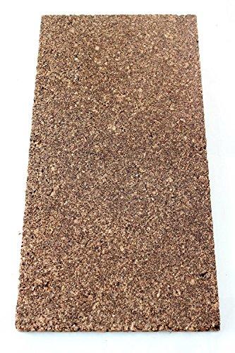 Corcho aislante placa para edificios aislamiento/aislamiento del techo/pared aislamiento/aislamiento de techo/Cabañas etc. Sonderposten (100 x 50 x 2 cm)