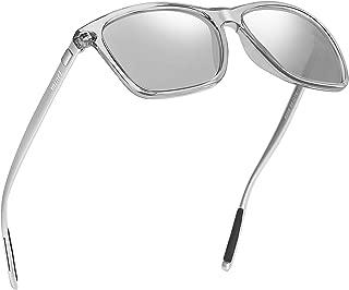 WILLOCHRA Unisex Polarized Sunglasses Classic Men Retro...