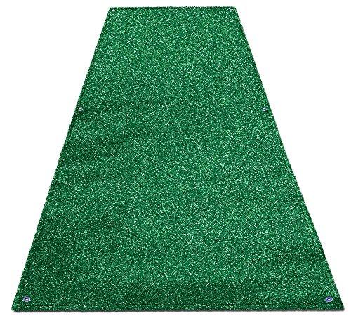 House, Home and More Outdoor Turf Wedding Aisle Runner - Green - 4 Feet x 20 Feet