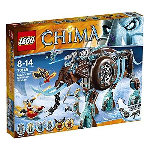 LEGO Legends of Chima - El mamut demoledor de Maula, Juego de construcción (70145)
