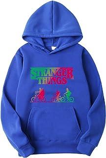 Pull Stranger Things Homme Enfants Fille Saison 3 Unisexe Sweat-Shirt a Capuche Hooded Gar/çon Sweat Shirt Imprim/é Hoodie Gilet Sportif Sweat Stranger Things Femme
