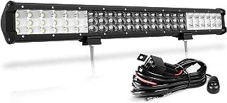 23 Inch LED Light Bar 7D Triple Row 360W, 36000LM Spot&Flood Combo Beam Off Road Work Driving fog Light Bar for SUV Jeep Trucks UTV Marine with Wiring Harness, 2 Year Warranty