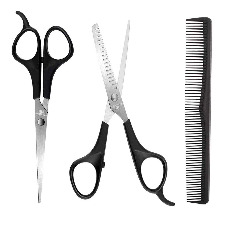 supreme Hair Scissors Set KKmeter Haircut Kit Hairdressing 3PCS Max 89% OFF