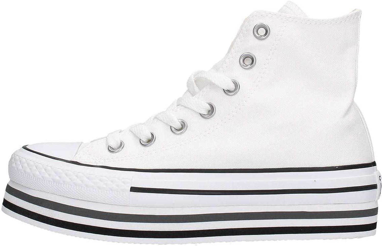 CONVERSE skor kvinnor låga skor med plattform 564485C CTAS PLATTFORM PLATTFORM PLATTFORM LAYER HI storlek 36.5 Vit  populär